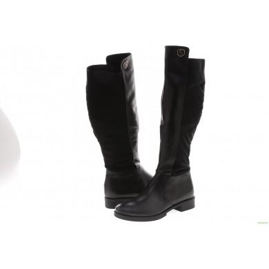 Дамски ботуши в черен цвят