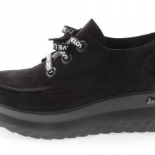 Дамски обувки от естествен набук